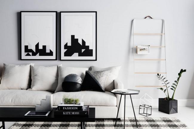 Дизайн в черно и бяло: елегантност и шик