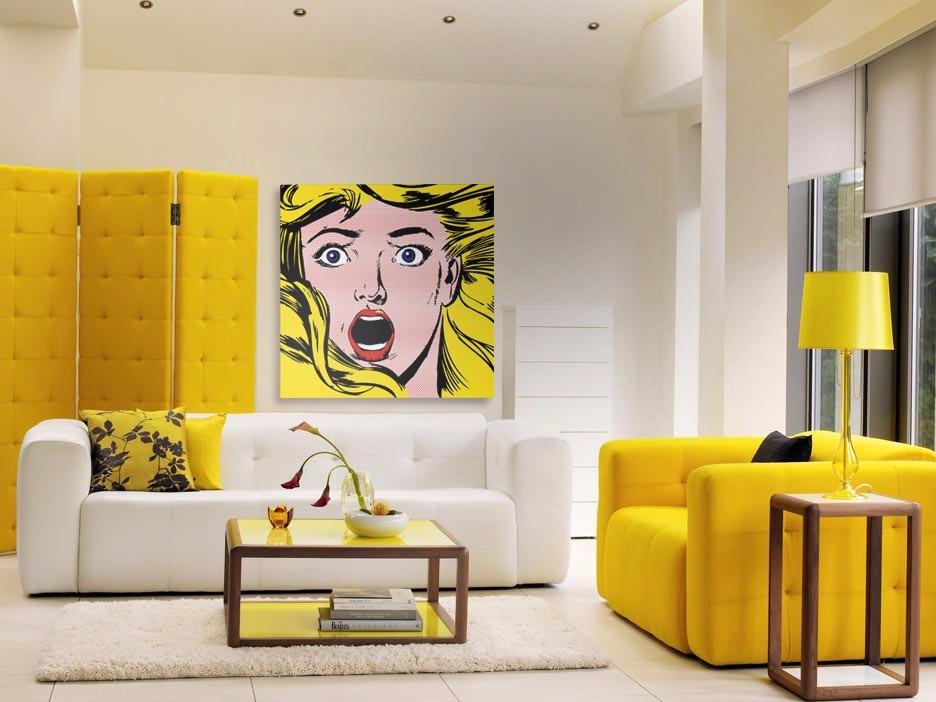 Кажете ДА на жълтото – Прекрасни всекидневни с жълти акценти