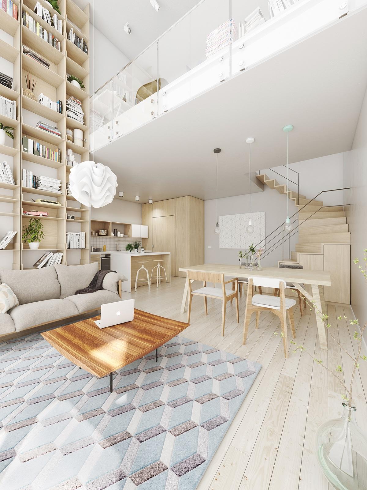Вдъхновения за отворено пространство, свързващо кухнята и дневната