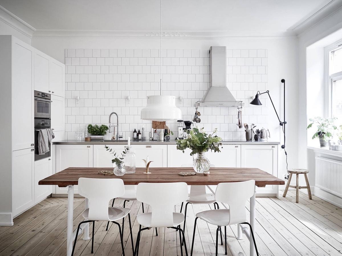 Скандинавски кухни: идеи и вдъхновение
