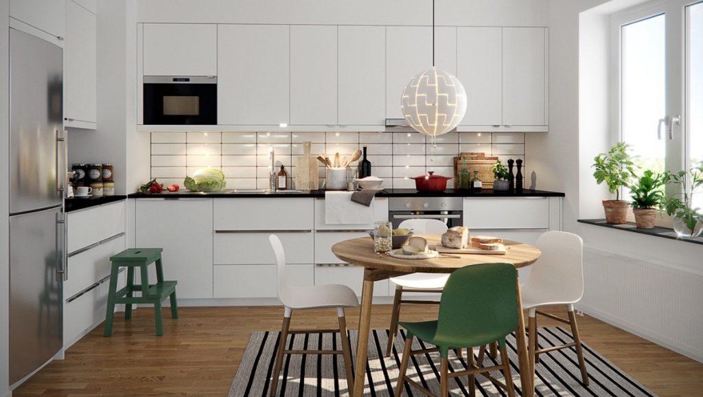 Скандинавски кухни идеи и вдъхновение Интериорен Дизайн