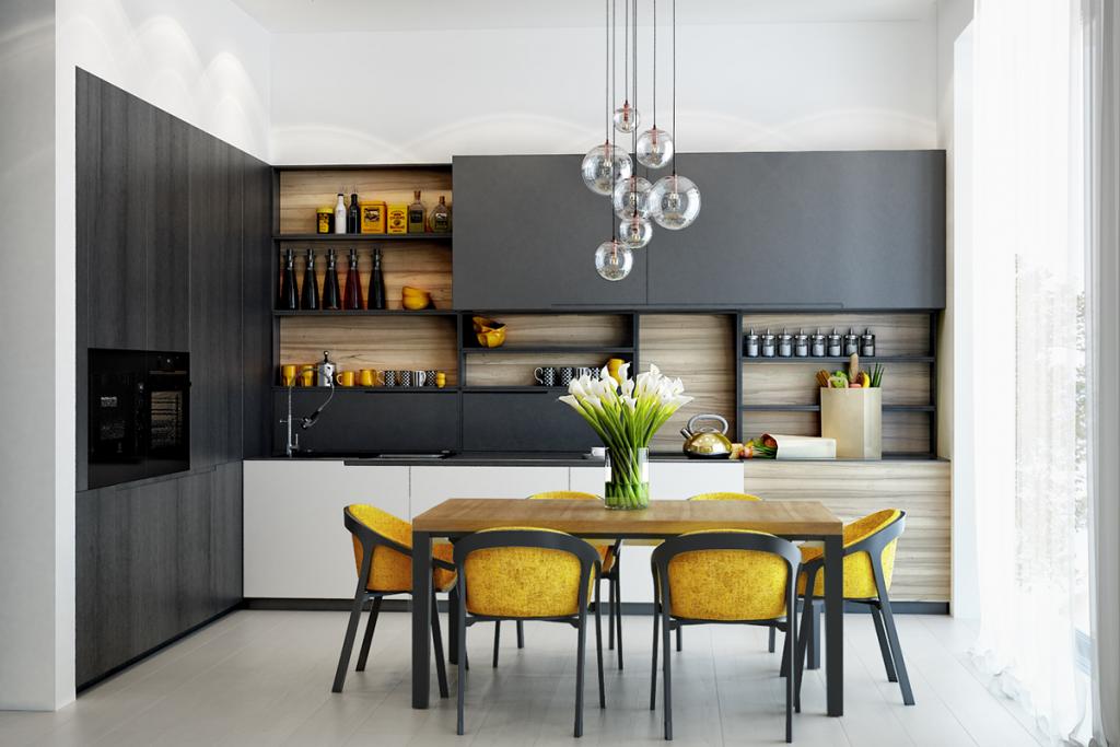 kitchen-color-theme-for-open-shelves