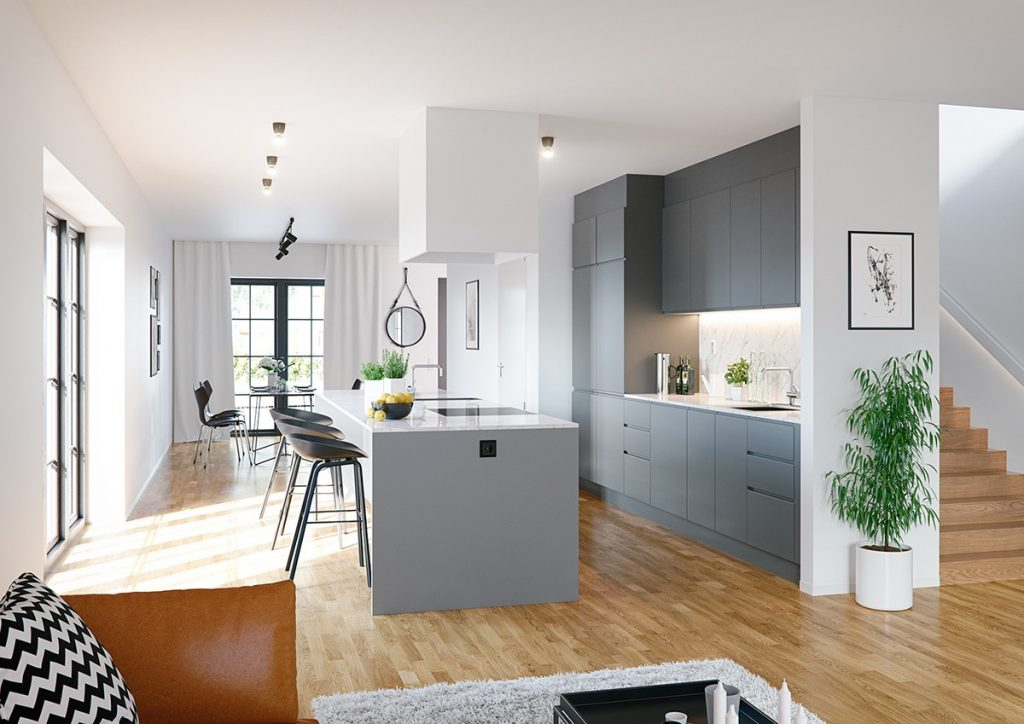 mid-grey-and-white-kitchen-wooden-floor