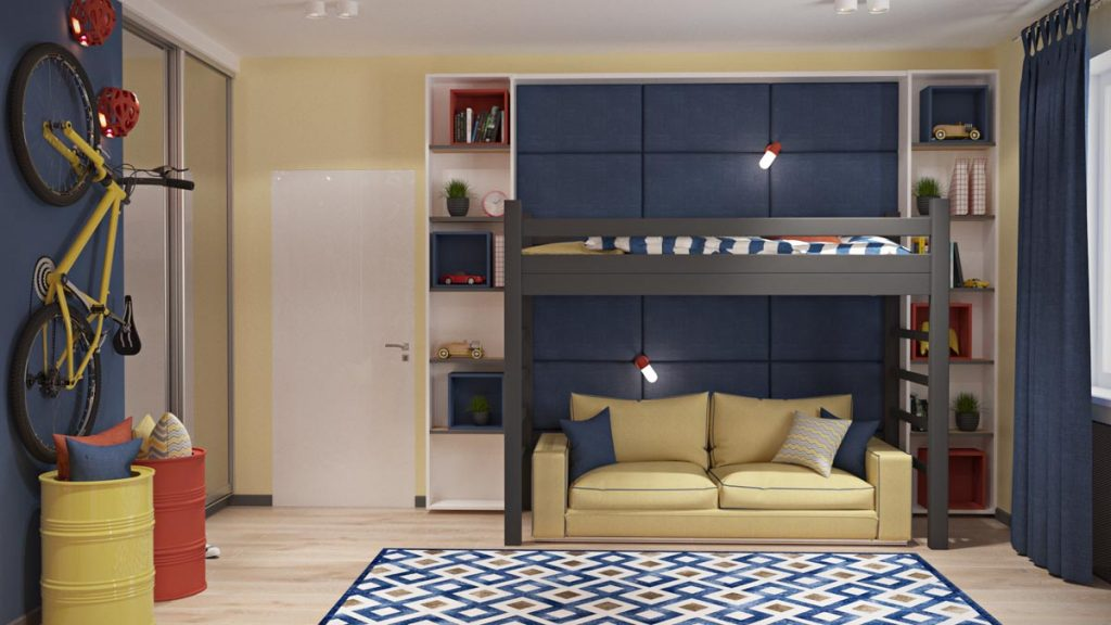 blue-and-yellow-kids-room