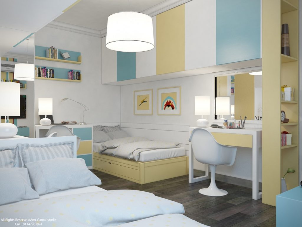 room-design-for-three-kids