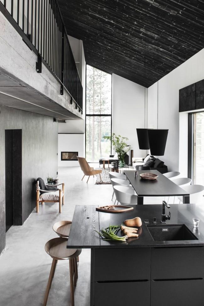 Дизайн на кухня,трапезария и дневна