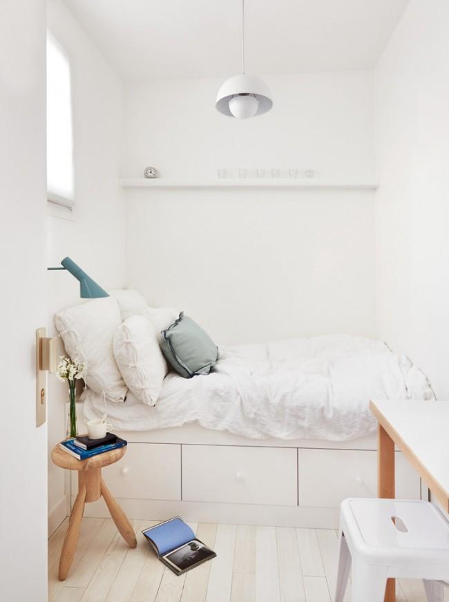 Дизайн на малка спалня: правилата при декорация