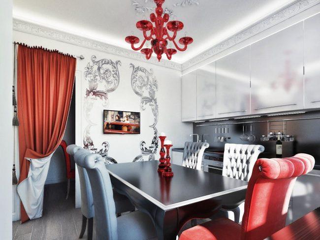 Кухня в стил Арт Деко: тънкостите на хармоничен интериор