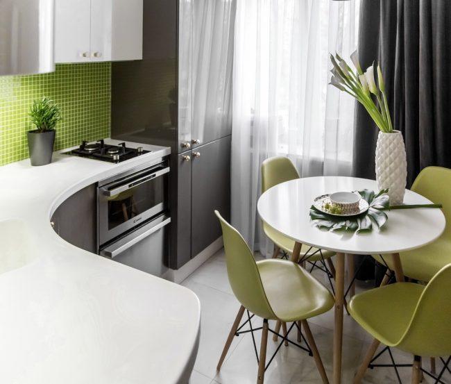 Дизайн на малка кухня