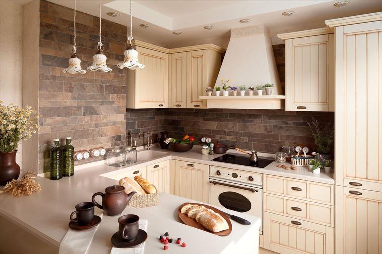 Кухни в стил Кънтри и Прованс