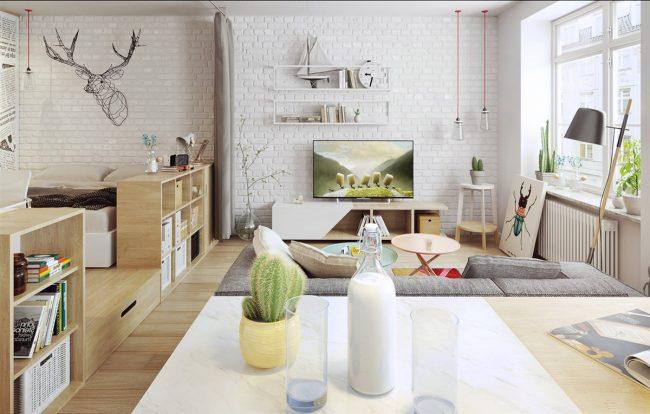 Дизайн на студио: тенденции за създаване на модерен и функционален интериор