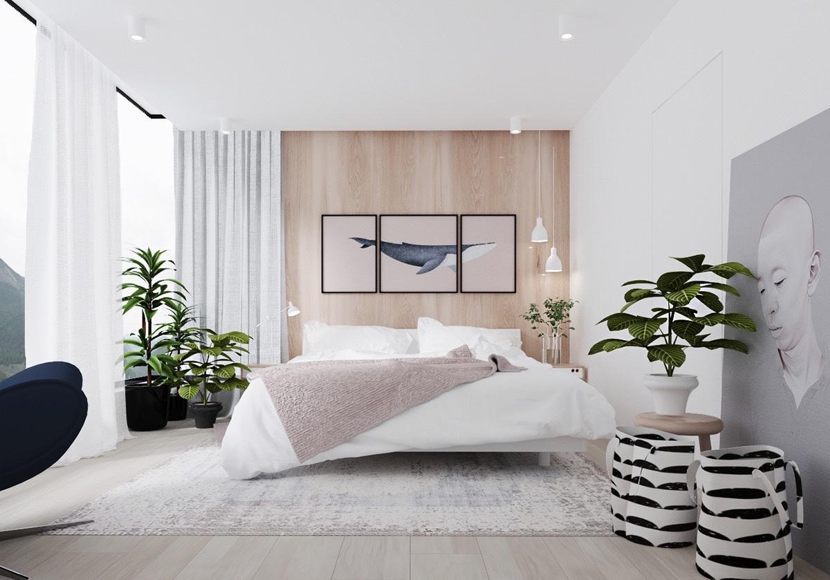 Светли спални за почивка и релаксация
