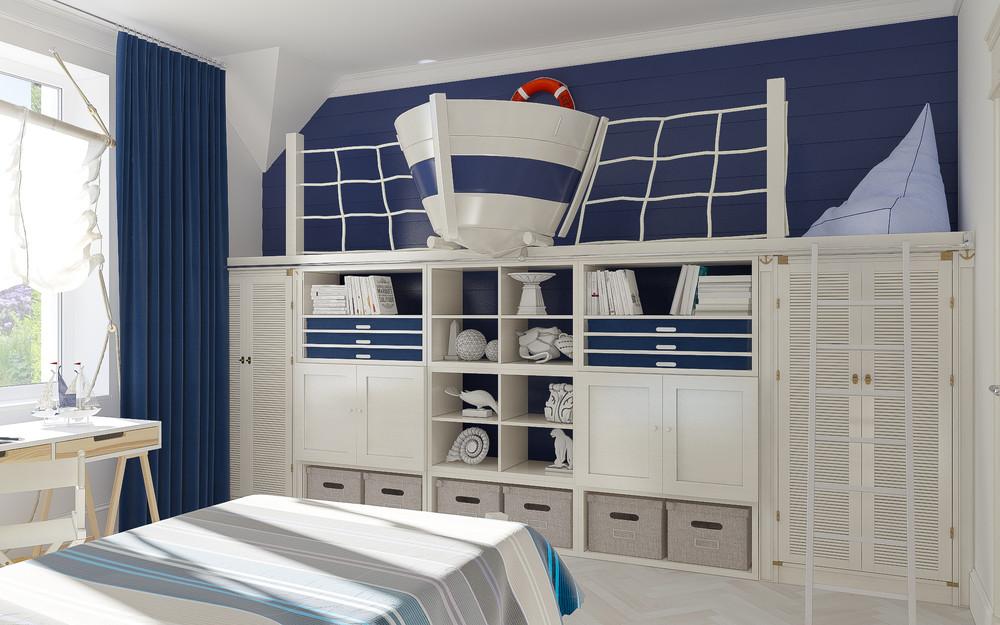 Nautical-bedroom