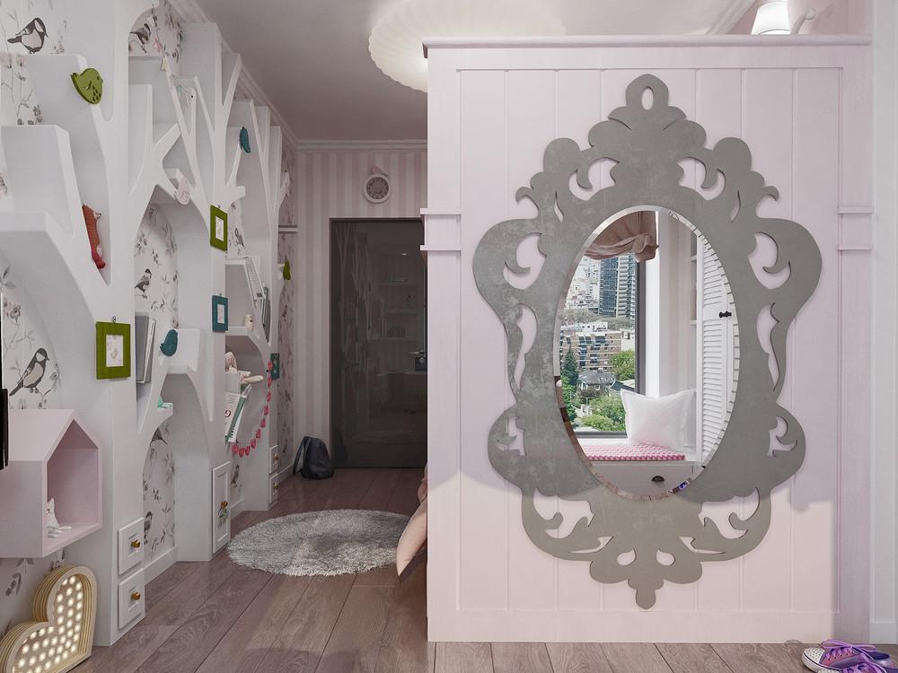 Ornate-mirror