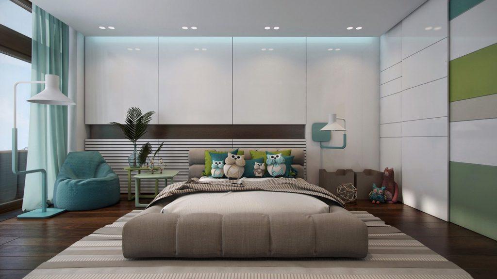 Turquoise-unique-floor-lamp