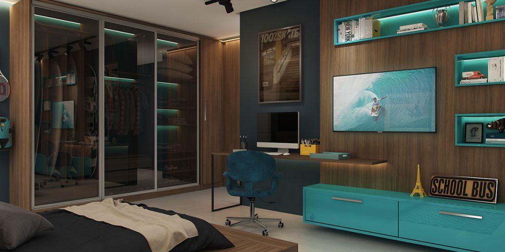 Turquoise-unit