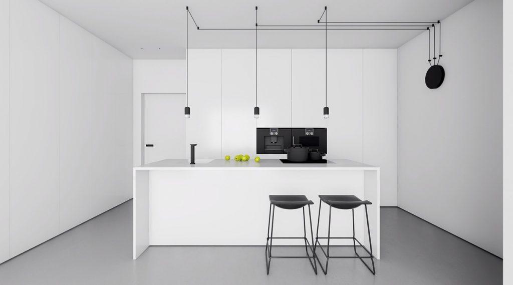 minimalist-black-and-white-kitchen-design