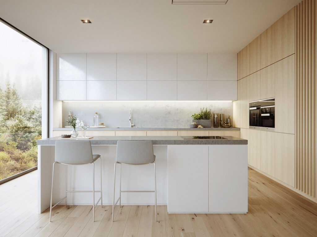 white-and-wood-kitchen