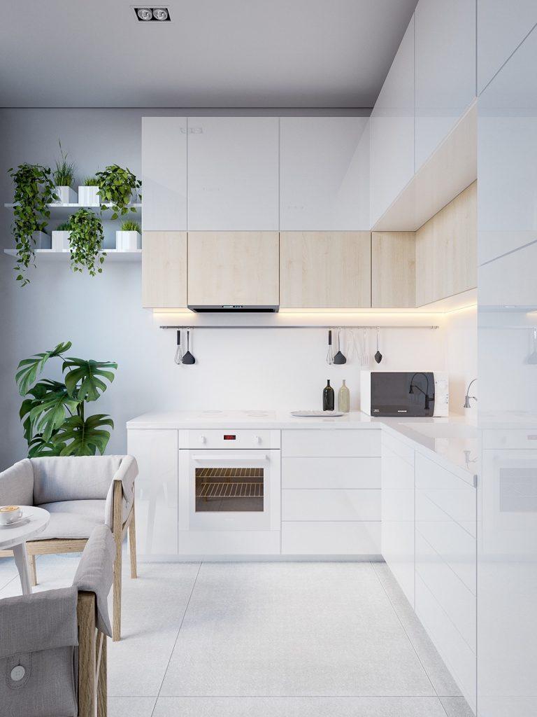 white-eat-in-minimalist-kitchen